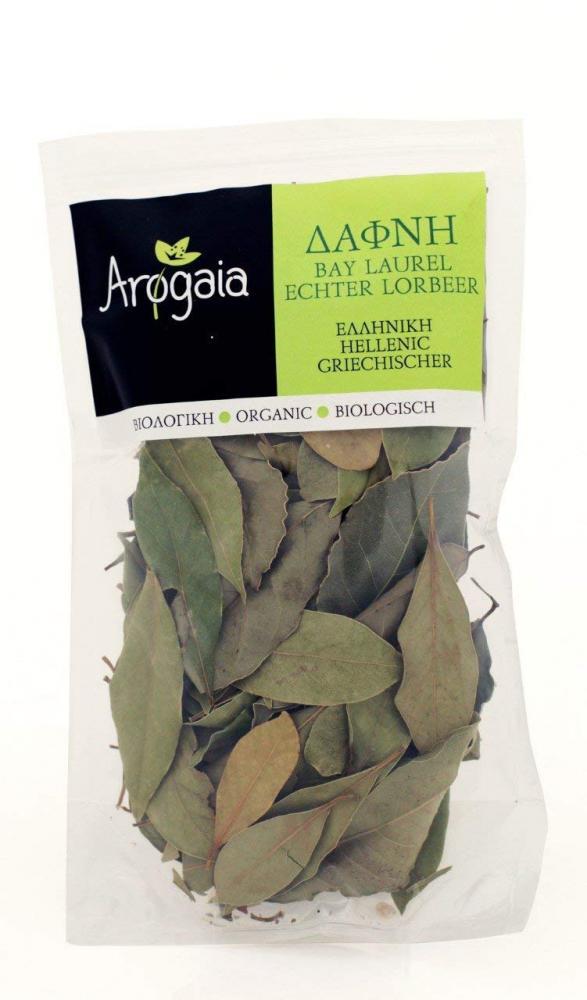 Arogaia Greek Organic Bay Laurel Leaves 20g