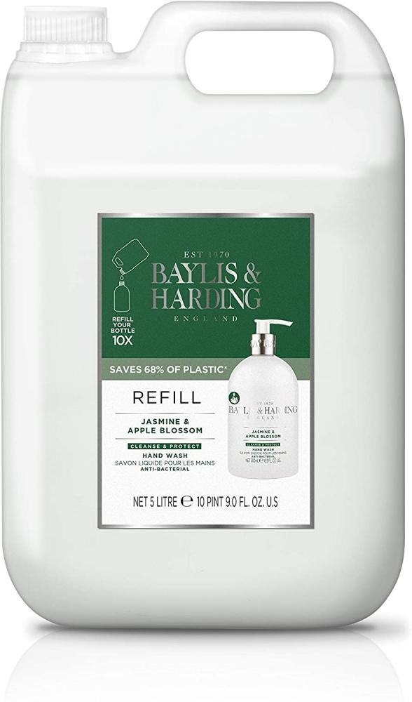 Baylis and Harding Jasmine and Apple Blossom Anti-Bacterial Hand Wash 5L