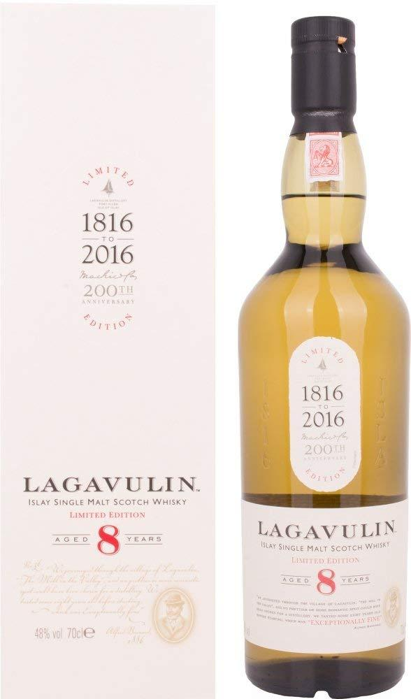 Lagavulin 8 Years Old Single Malt Scotch Whisky 70cl