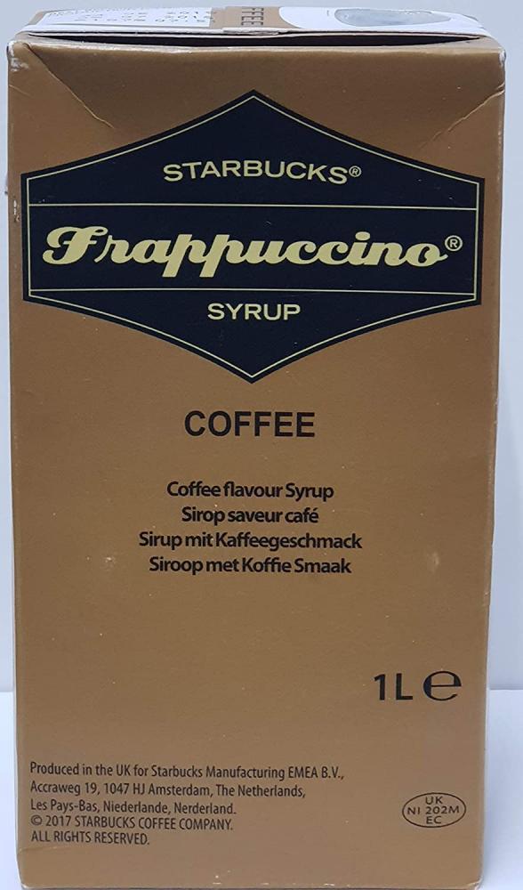 Starbucks Frappuccino Syrup Coffee 1 Litre