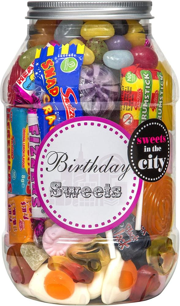 SALE  Sweets in the City Birthday Sweets Jar 500g