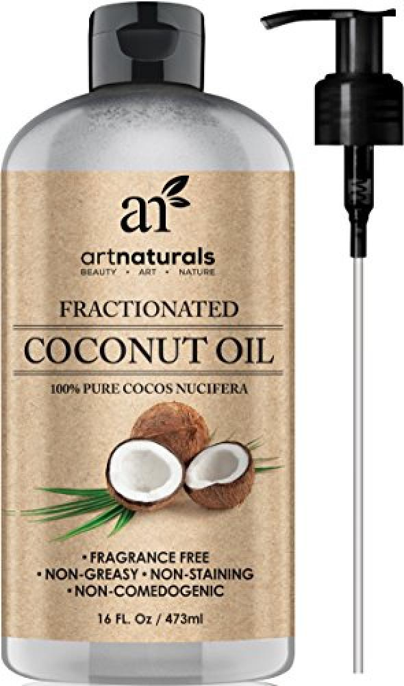 Art Naturals Fractionated Coconut Oil Fragrance Free 473ml