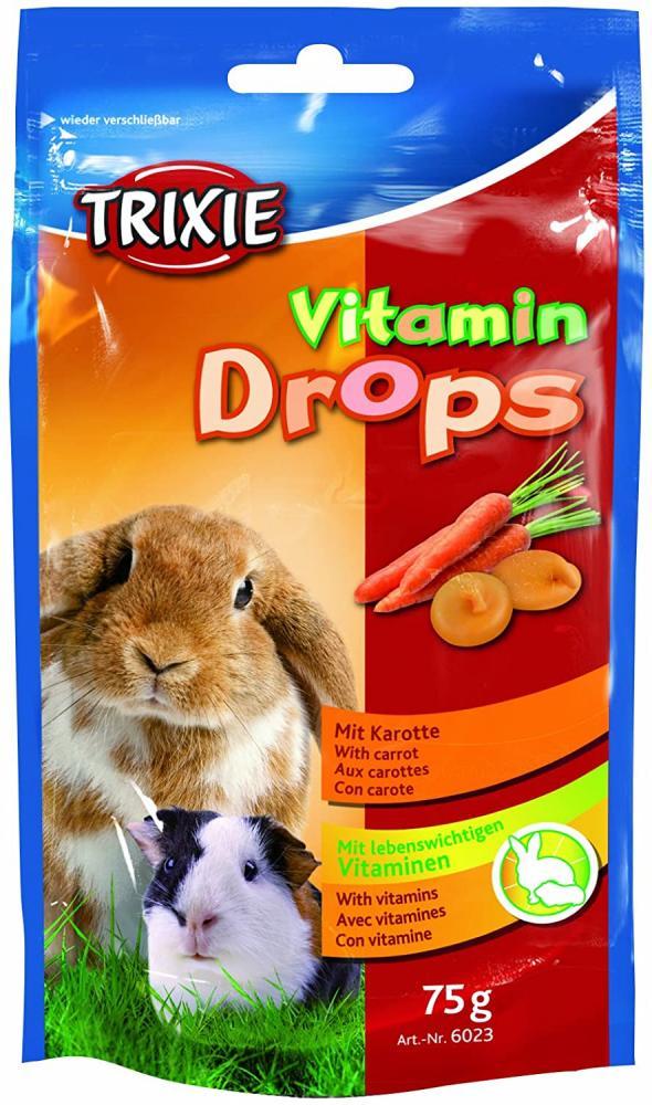 Trixie Carrot Vitamin Drops 75g