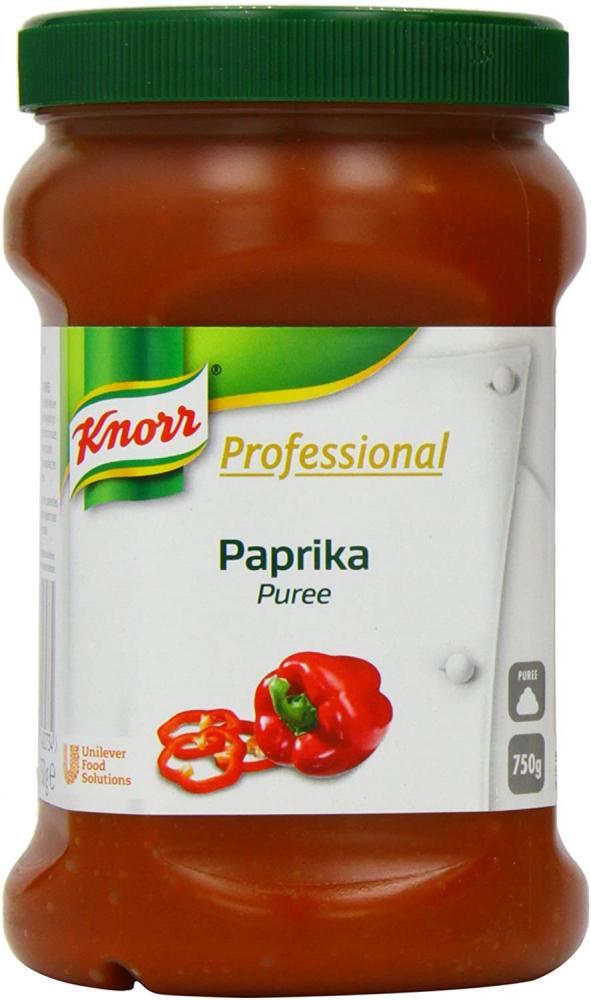SALE  Knorr Paprika Puree 2 x 750g