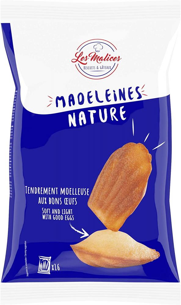 Les Malices Madeleine Nature 400g