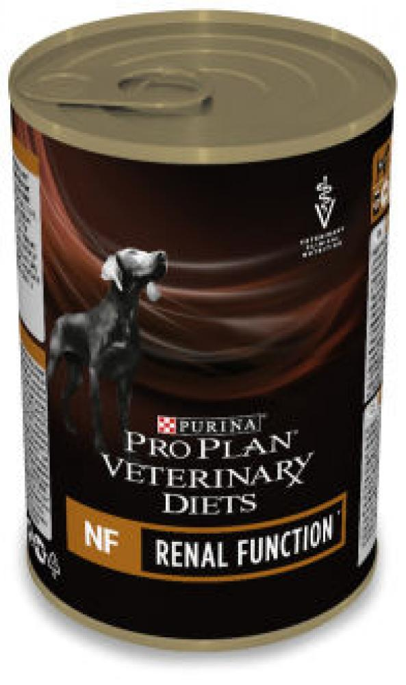 Purina Pro Plan Wet Veterinary Diets NF Renal Function Dog Clinical Diet Food Mousse Ca 400 g