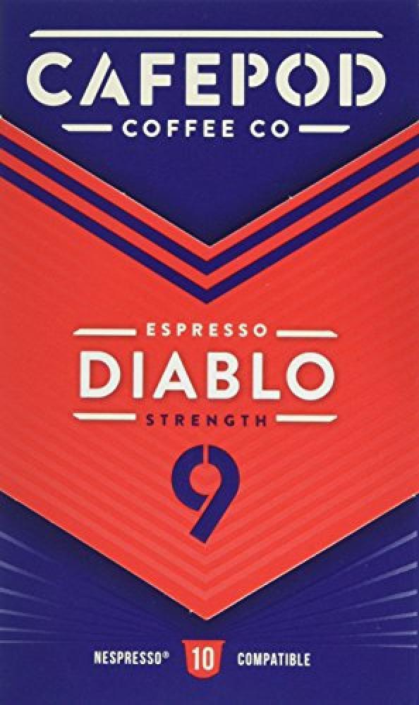 Cafepod Espresso Diablo 110g