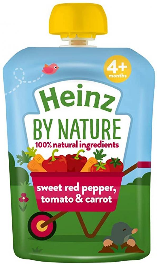 Heinz Infant Sweet Red PepperTomato and Carrot 100g