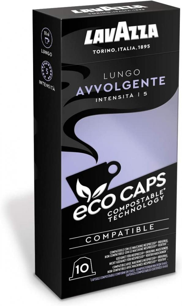 Lavazza Eco Caps Coffee Pods 10 caps