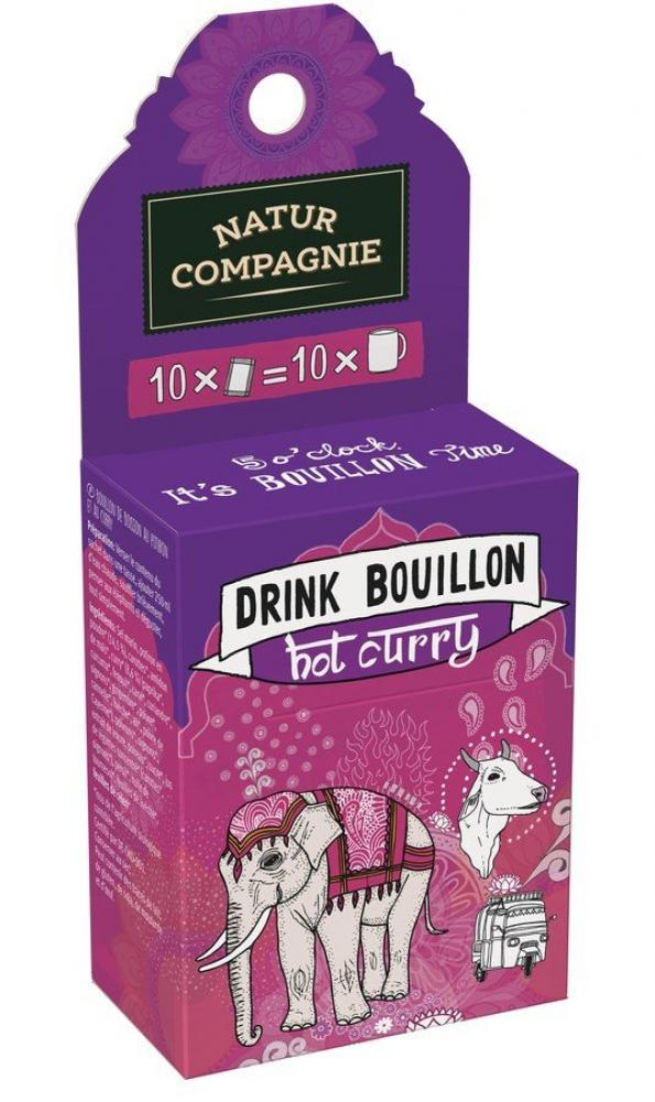 Natur Compagnie Drink Bouillon Hot Curry 50g