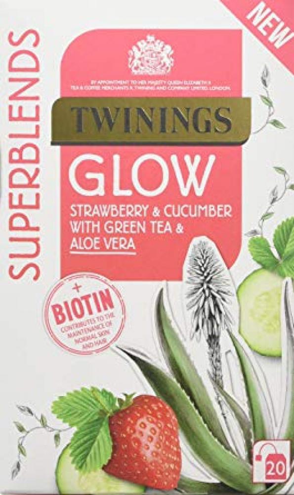 Twinings Super Blends Glow Tea Bags 40g