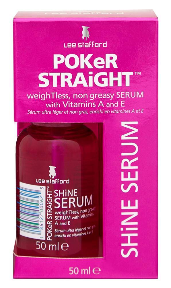 Lee Stafford Poker Straight Shine Serum 50 ml No Box