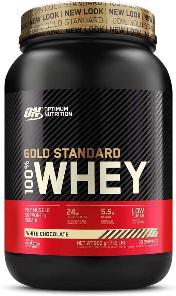 Optimum Nutrition Gold Standard Whey White Chocolate 900g