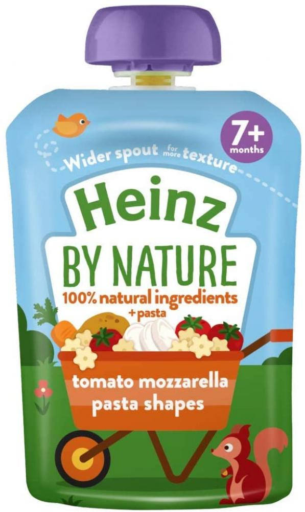Heinz Tomato and Mozzarella Pasta Shapes Meal Pouch 130g
