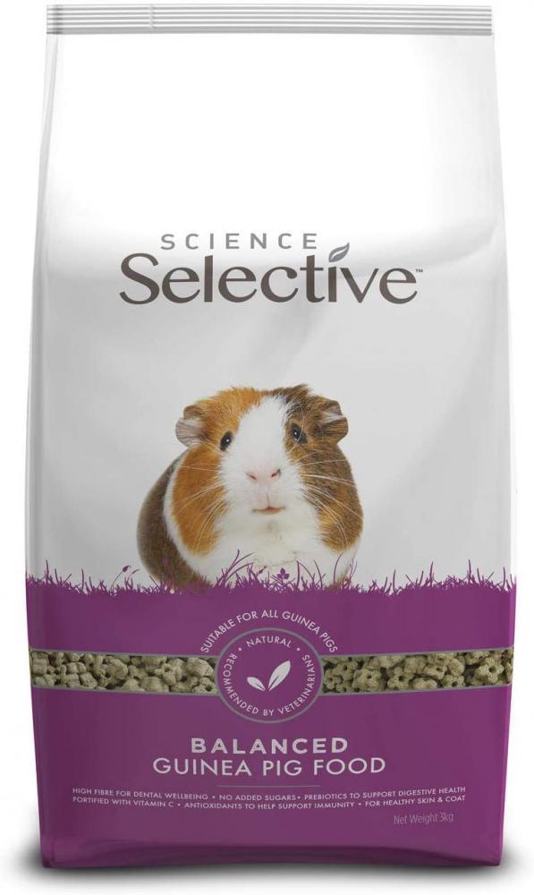 SALE  Supreme Science Selective Guinea Pig Food 3kg