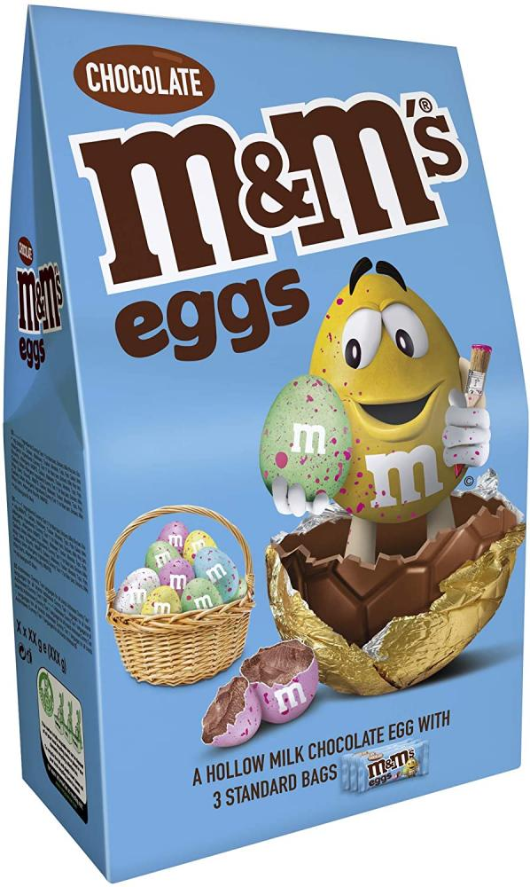 M and Ms Eggs Chocolate Easter Egg Bundle Easter GiftsExtra Large 313g