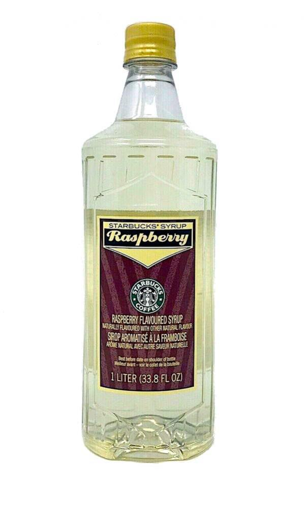 Starbucks Raspberry Flavour Syrup 1 Litre