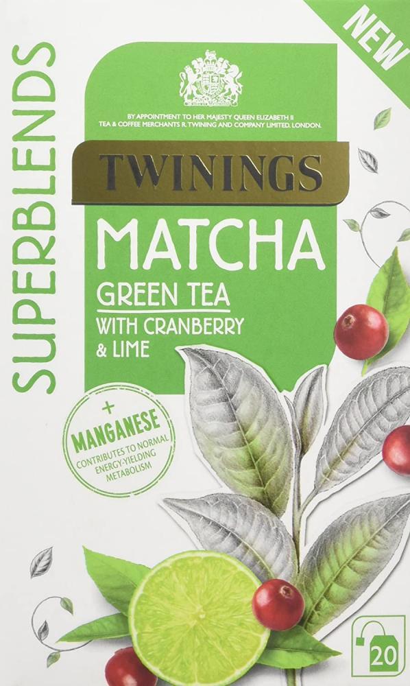 Twinings Super Blends Matcha Tea 20 Bags