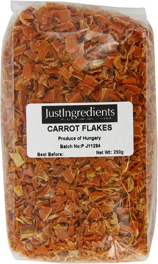 JustIngredients Essentials Carrot Flakes 250 g