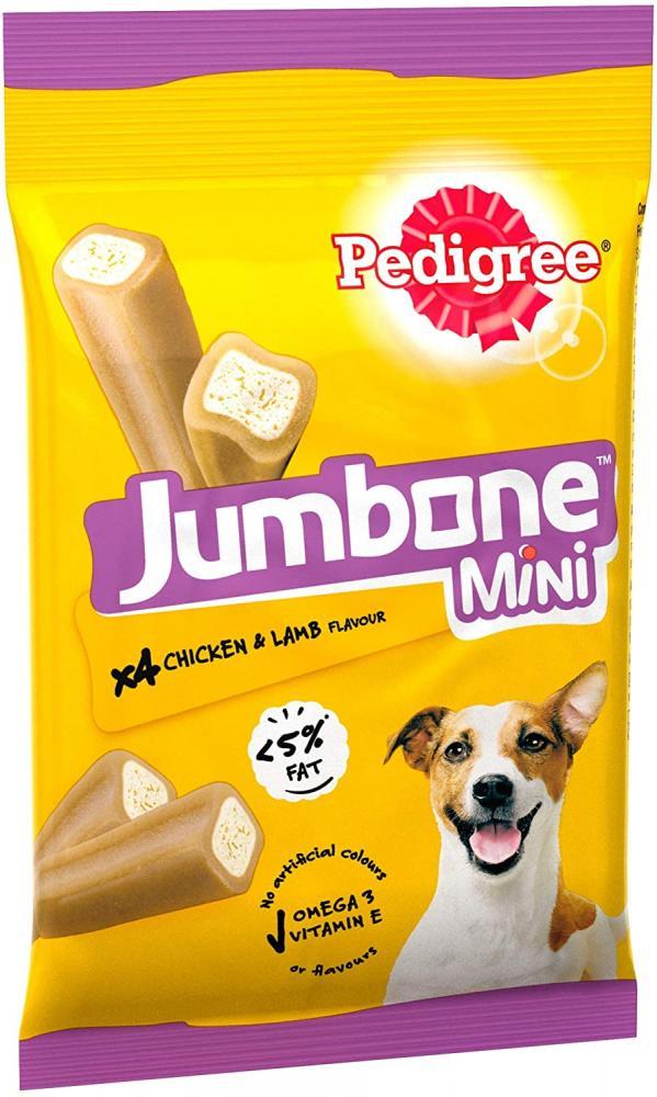 Pedigree Jumbone - Small Dog Treats with Chicken and Lamb 160g