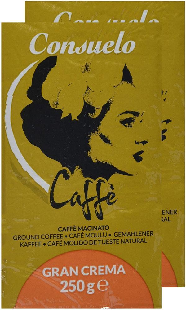 Consuelo Gran Crema - Italian Ground Coffee 250 g