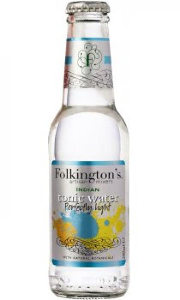 Folkingtons Indian Tonic Water Perfectly Light 200ml