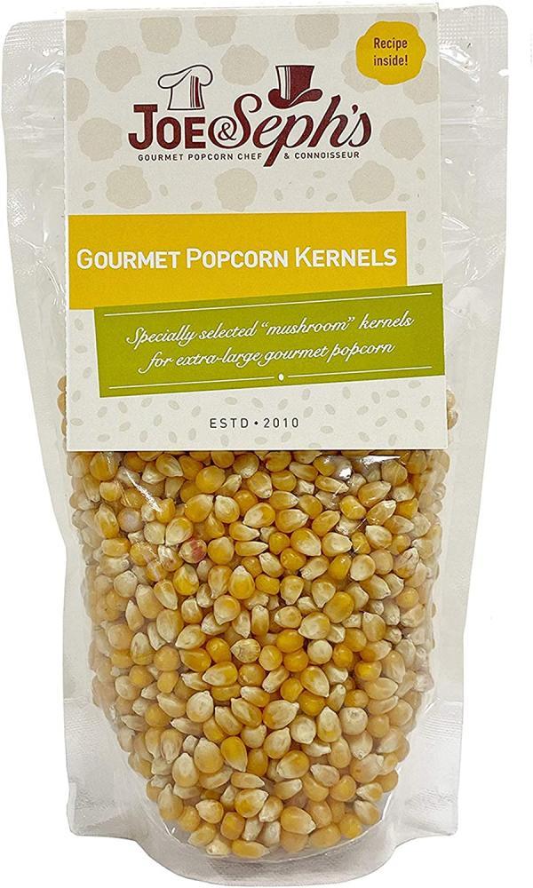 Joe and Sephs Popping Corn Kernels X-Large Bag 1kg