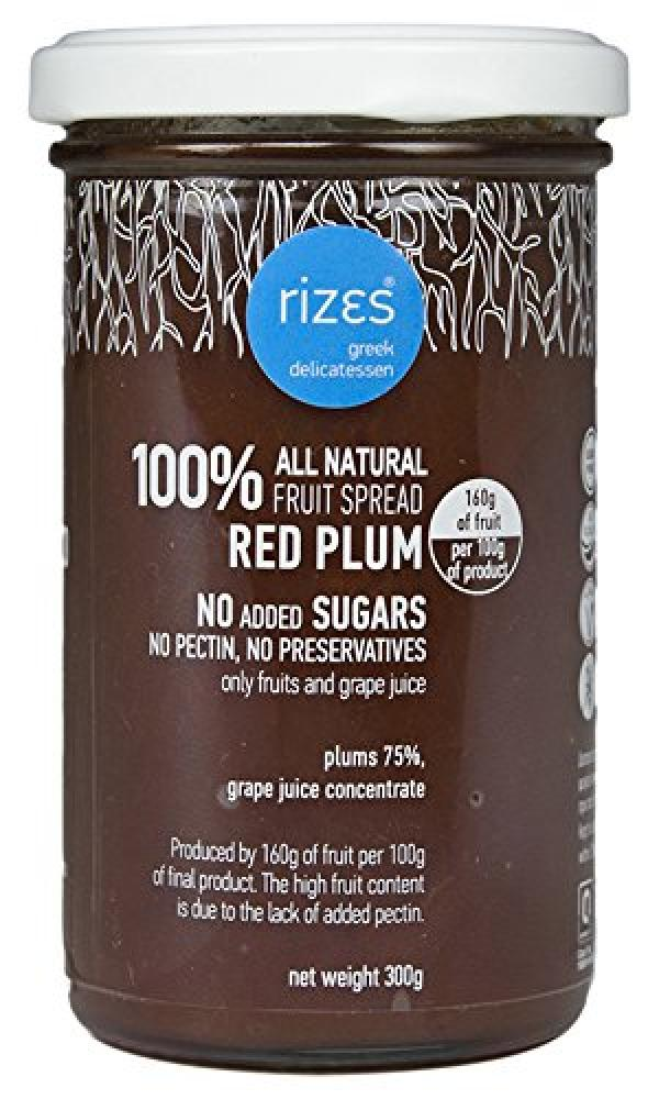 Rizes Greek Delicatessen Fruit Spread Red Plum 300g