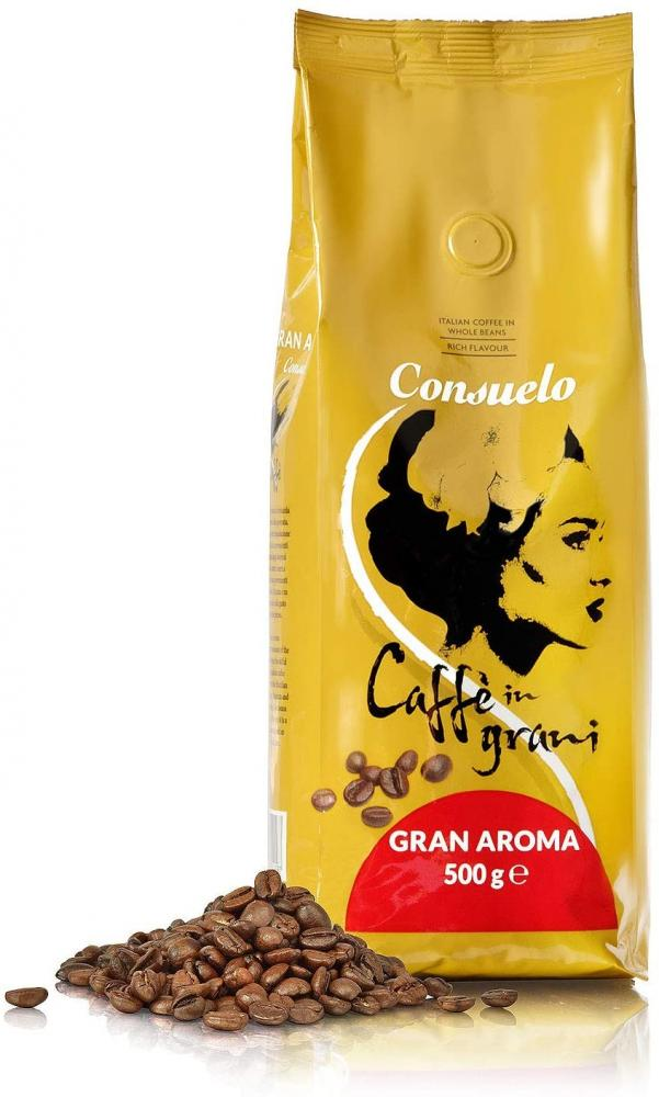 Consuelo Gran Aroma Italian Coffee in Whole Beans 500g