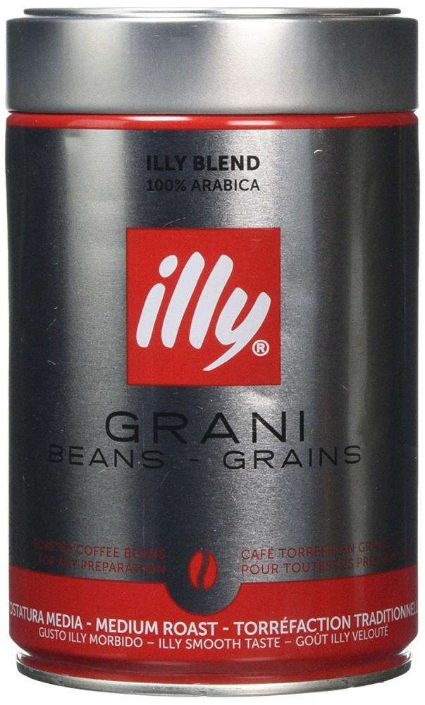 Illy Grani Roasted Coffee Beans 250g