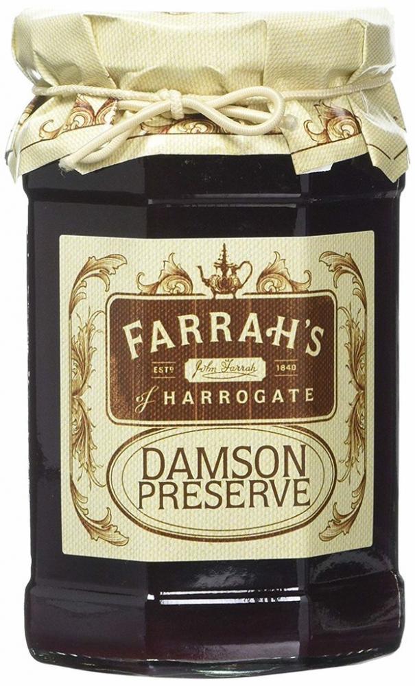 Farrahs Of Harrogate Damson Preserve 340g