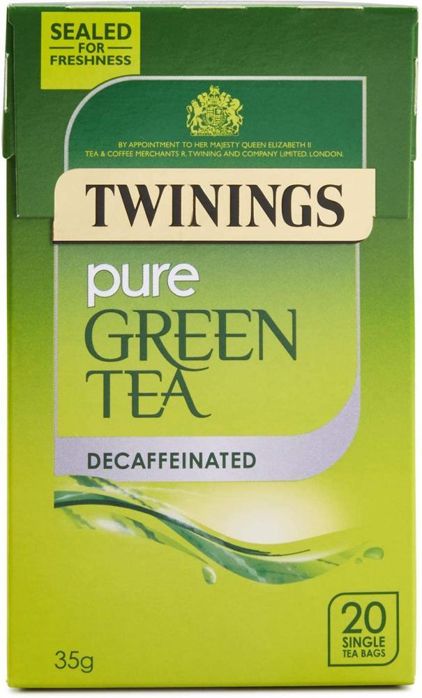 Twinings Decaffeinated Green Tea 20 teabags