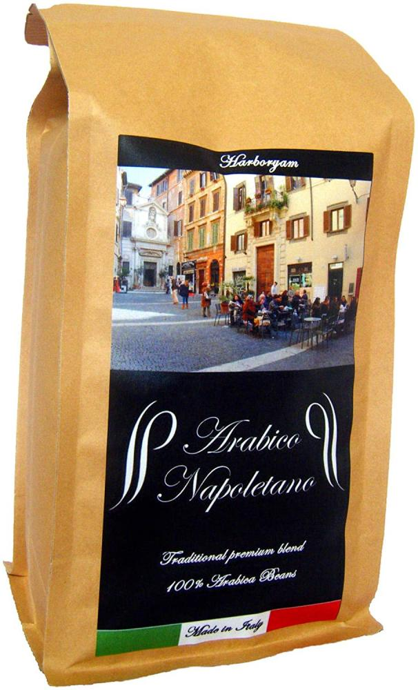 Harboryam Arabico Napoletano Ground Coffee - 100 Percent Arabica Blend traditionally Made in Italy 0.5 kg