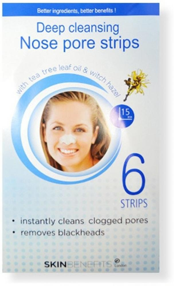 SUMMER SALE  Skin Benefits Deep Cleansing Nose Pore Strips 6 strips
