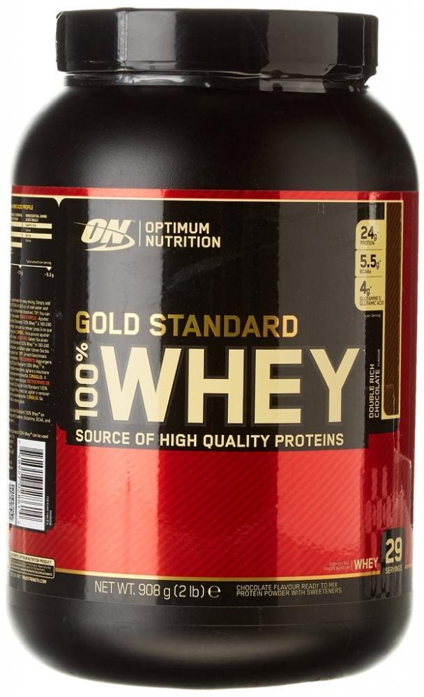 Optimum Nutrition Gold Standard Whey Protein Powder Double Rich Chocolate 908g