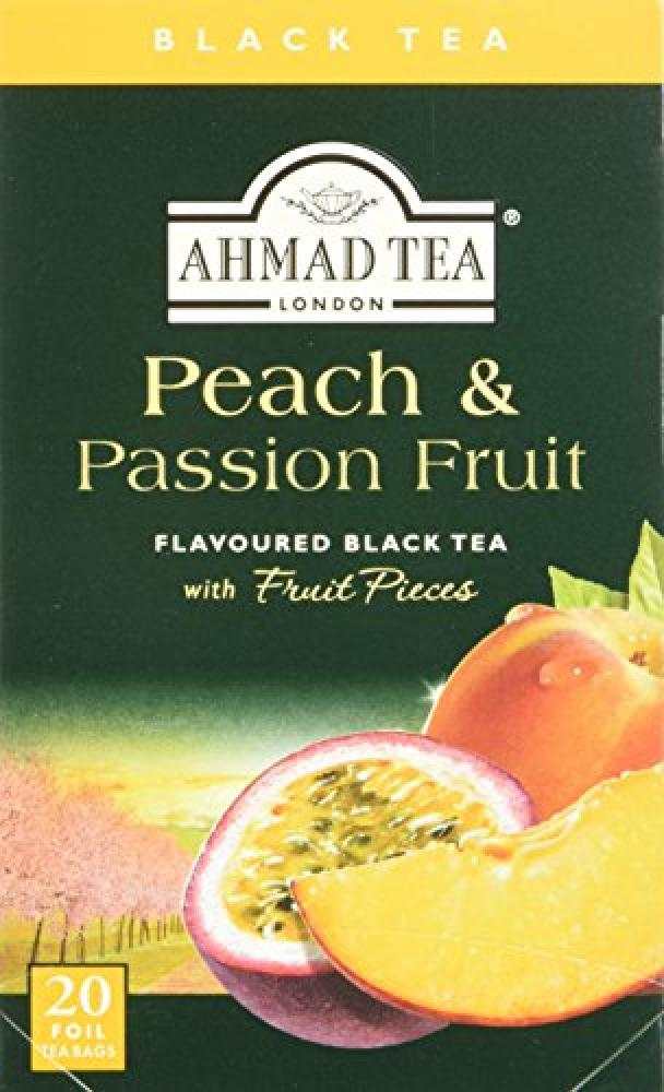 Ahmad Tea Peach and Passion Fruit 20 Teabags
