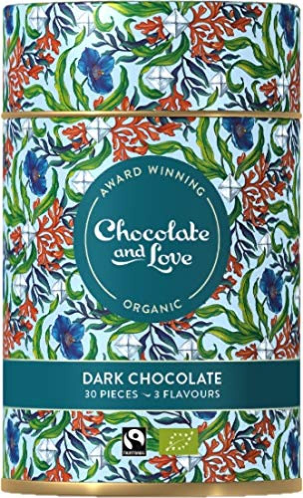 Chocolate and Love Organic Dark Chocolates 30 Pieces