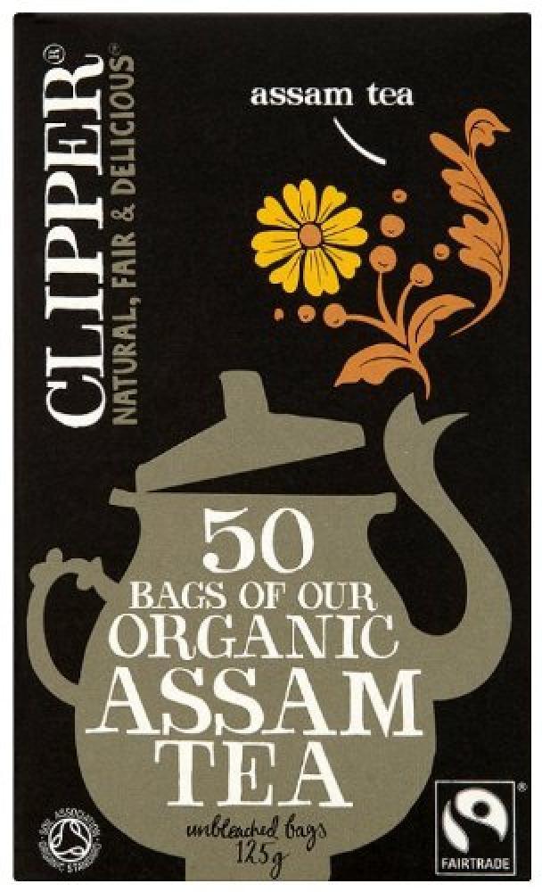 Clipper Organic Assam Tea 50 Bags