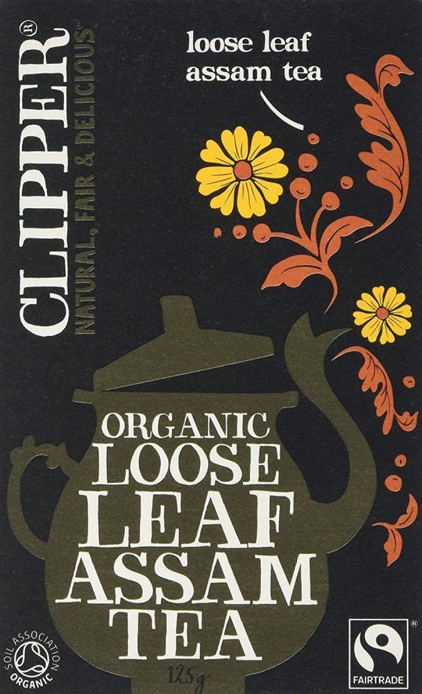 Clipper Organic Loose Leaf Assam Tea 125 g