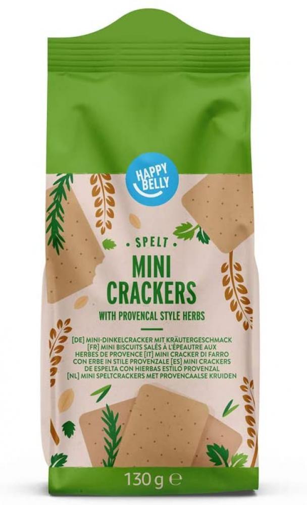 SALE  Happy Belly Spelt Mini Crackers Provencal 130g