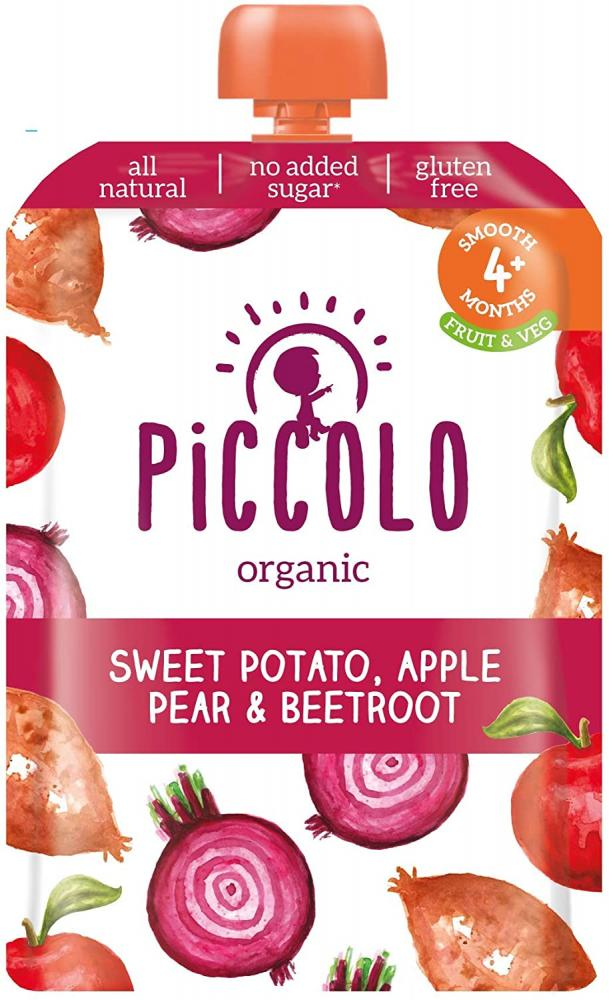 Piccolo Sweet Potato Beetroot Apple and Pear Puree 100g