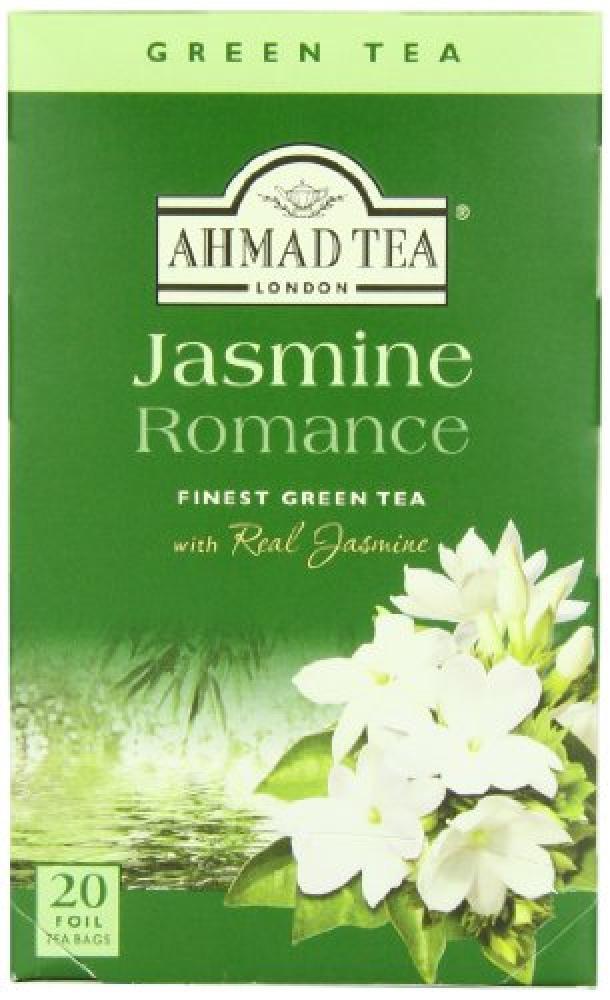 Ahmad Tea Jasmine Romance Green Tea 20 tea bags