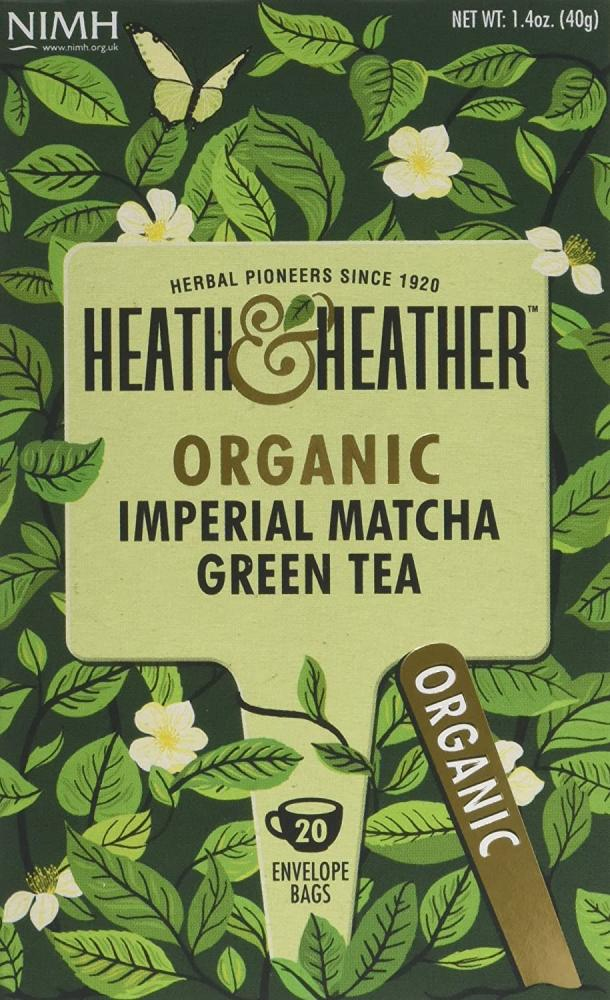 Heath and Heather Organic Imperial Matcha Green Tea 40 g