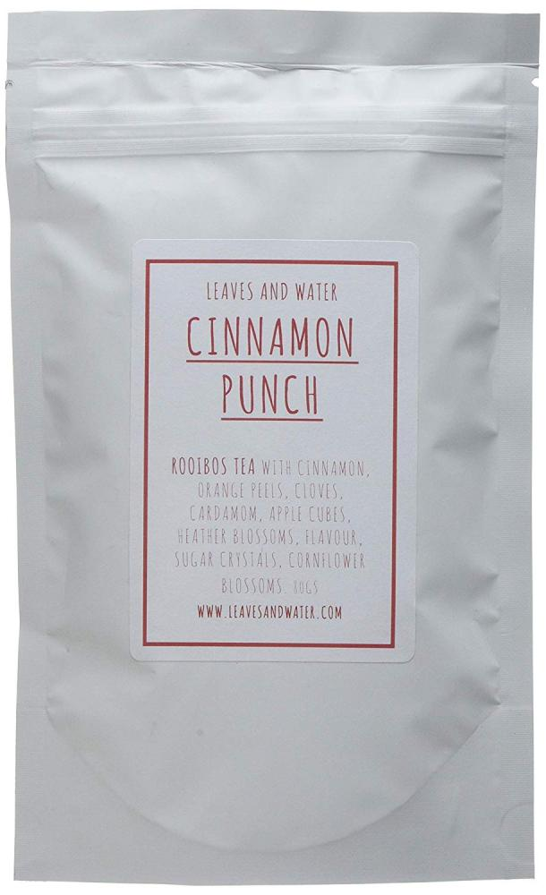 SALE  Leaves And Water Cinnamon Punch Rooibos Tea 80g