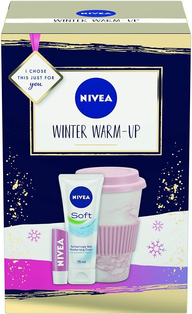 Nivea Winter Warm Up Gift Set Damaged Box