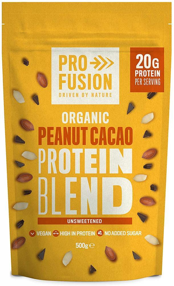 Profusion Organic Peanut Cacao Vegan Protein Blend 0.5 kg