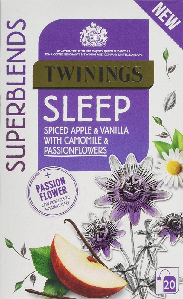 Twinings Superblends Sleep Tea 20 Tea Bags