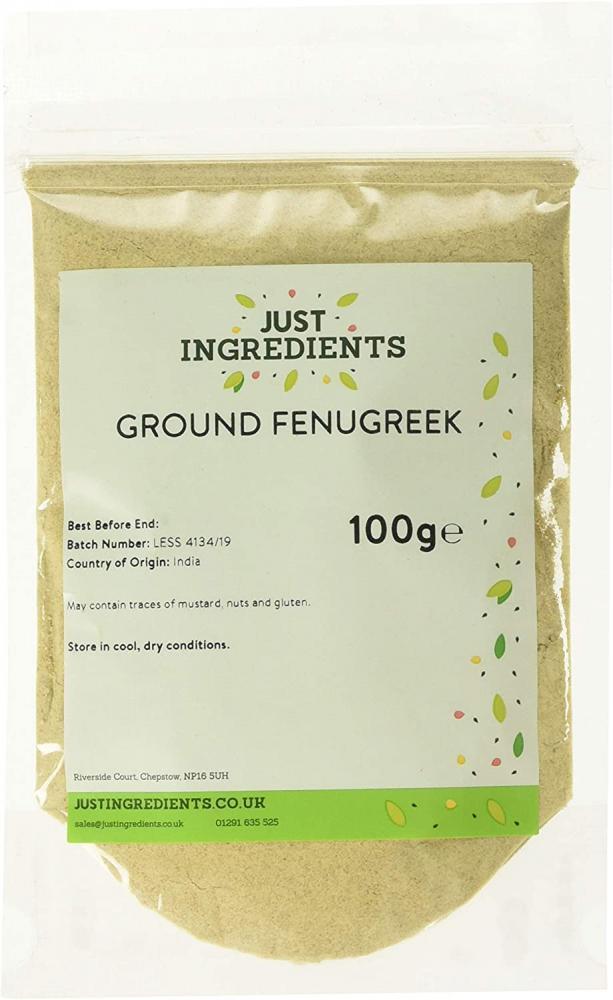 Just Ingredients Fenugreek Ground 100g