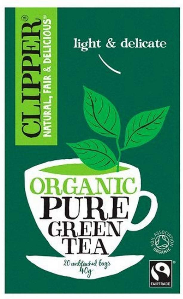 Clipper Organic Pure Green Tea 20 Tea bags