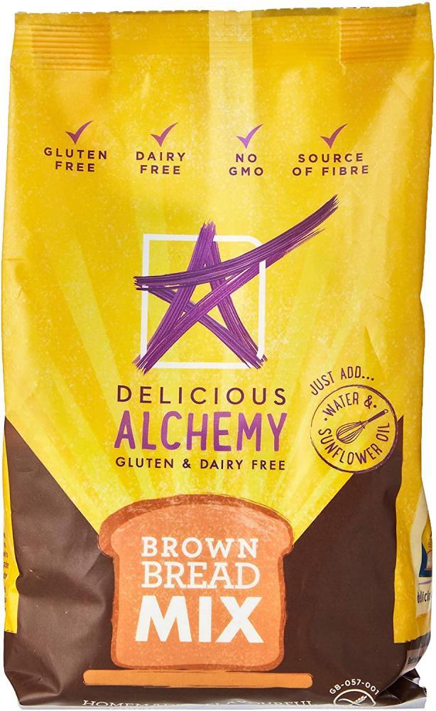 Delicious Alchemy Gluten Free Brown Bread Mix 340 g